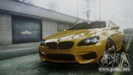 BMW M6 2013 para GTA San Andreas