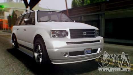 GTA 5 Dundreary Landstalker IVF para GTA San Andreas