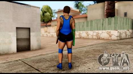 WWE Santino para GTA San Andreas tercera pantalla