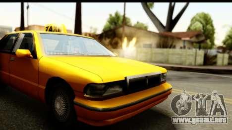 New Effects (IMFX, Shaders) para GTA San Andreas sexta pantalla