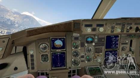 GTA 5 Boeing 757-200 cuarto captura de pantalla