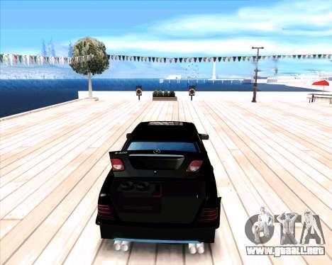 Mercedes Benz E-Class para la visión correcta GTA San Andreas