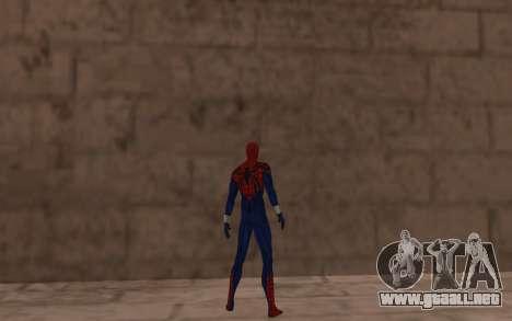 Sensacional Spider-Man Ben Reilly Robinosuke para GTA San Andreas sucesivamente de pantalla