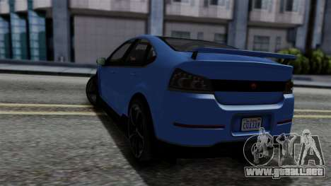 GTA 5 Cheval Surge para GTA San Andreas left
