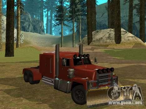 Petroltanker v2 para GTA San Andreas left