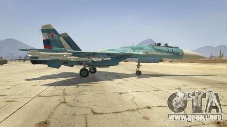 GTA 5 Su-33 segunda captura de pantalla