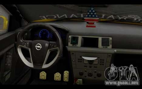 Opel Vectra Special para la visión correcta GTA San Andreas