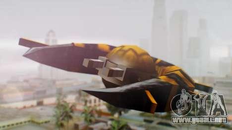 Alien Ship Yellow-Black para GTA San Andreas