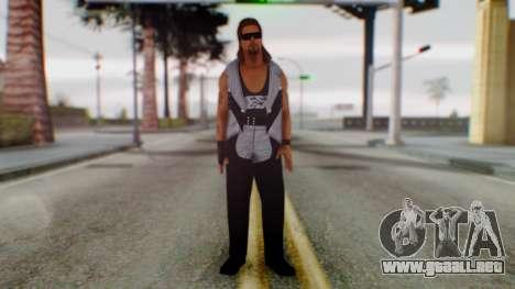 WWE Diesel 1 para GTA San Andreas segunda pantalla
