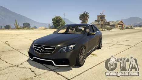 Mercedes-Benz E63 AMG Unmarked Cruiser para GTA 5