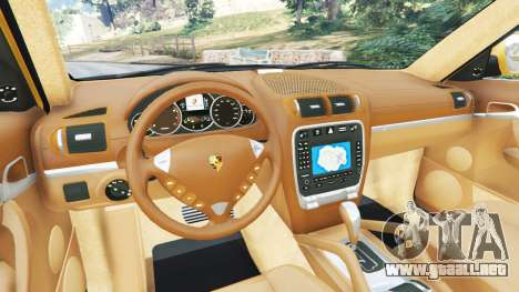 GTA 5 Porsche Cayenne Turbo 2003 vista lateral trasera derecha