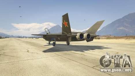 GTA 5 Chengdu J-20 tercera captura de pantalla