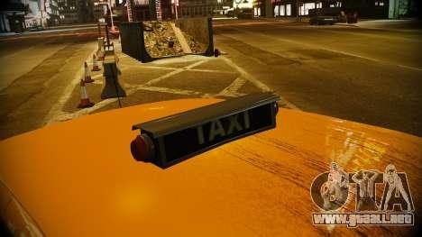 Ford Crown Victoria L.C.C Taxi para GTA 4 visión correcta