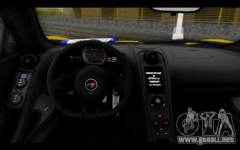 McLaren 650S Coupe para la visión correcta GTA San Andreas