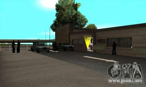 La renovación de las escuelas de manejo en San F para GTA San Andreas tercera pantalla