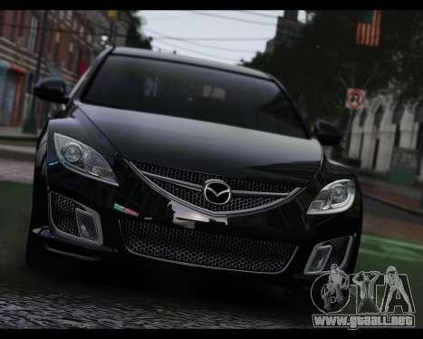 Mazda 6 Sport para GTA 4 Vista posterior izquierda