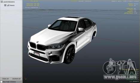 Rueda de GTA 5 BMW X6M F16 Final