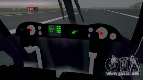 New Police Maverick para la visión correcta GTA San Andreas