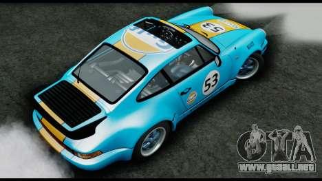 Porsche 911 Turbo 3.2 Coupe (930) 1985 para GTA San Andreas vista hacia atrás