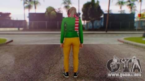 GTA Online Festive Surprise Skin 1 para GTA San Andreas tercera pantalla
