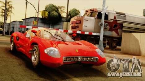Ferrari P7 Coupè para GTA San Andreas