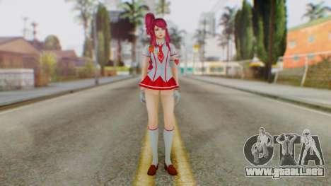 Katagiri Kyoka para GTA San Andreas segunda pantalla