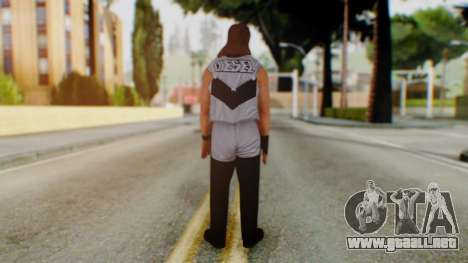 WWE Diesel 1 para GTA San Andreas tercera pantalla