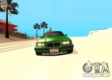 BMW E36 320i para la visión correcta GTA San Andreas