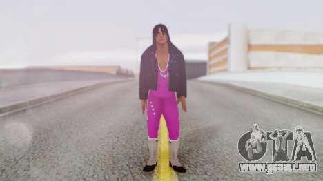 Bret Hart 2 para GTA San Andreas segunda pantalla