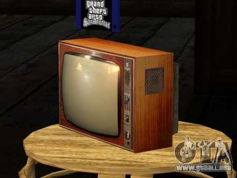 TV de Abedul-212 para GTA San Andreas