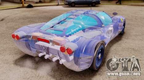 Ferrari P7 Crystal para GTA San Andreas left