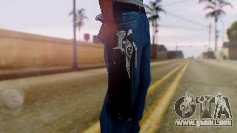 Reaper Weapon - Overwatch para GTA San Andreas tercera pantalla