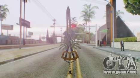 KHBBSFM - X-Blade para GTA San Andreas segunda pantalla