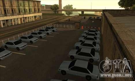 La renovación de las escuelas de manejo en San F para GTA San Andreas