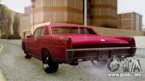 GTA 5 Vapid Chino Tunable PJ para GTA San Andreas left