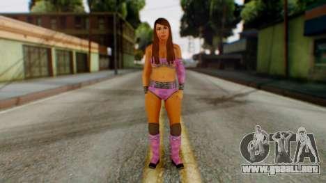 Layla WWE para GTA San Andreas segunda pantalla