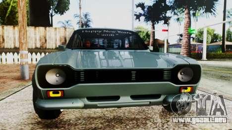 Ford Escort Mk1 para la visión correcta GTA San Andreas