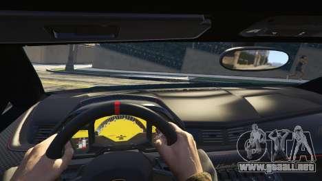 GTA 5 2013 Lamborghini Veneno HQ EDITION vista lateral trasera derecha