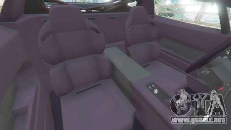 GTA 5 Jaguar XJ220 v1.2.5 vista lateral derecha