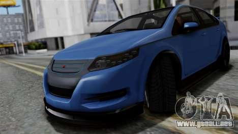 GTA 5 Cheval Surge para GTA San Andreas vista posterior izquierda