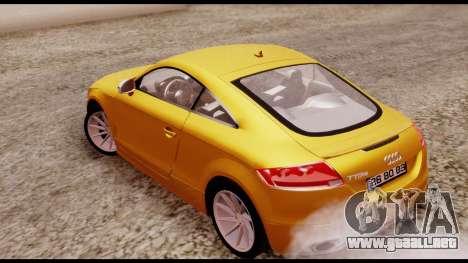 Audi TT RS para GTA San Andreas left