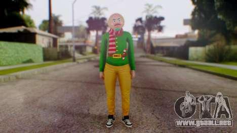GTA Online Festive Surprise Skin 1 para GTA San Andreas segunda pantalla