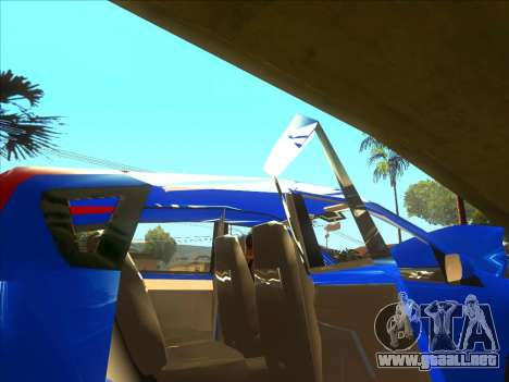 Nissan Note v0.5 Beta para la vista superior GTA San Andreas