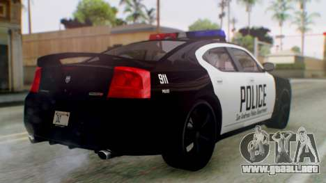New Police LV para GTA San Andreas left