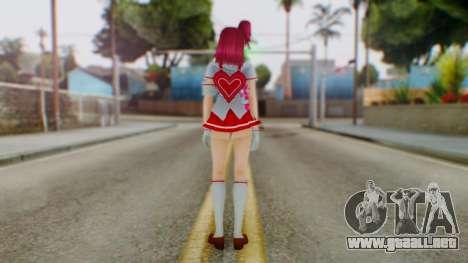Katagiri Kyoka para GTA San Andreas tercera pantalla