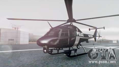 New Police Maverick para GTA San Andreas