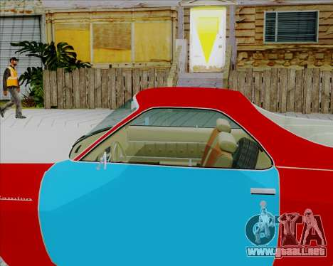Chevrolet El Camino My Name is Earl v1.0 para GTA San Andreas vista posterior izquierda
