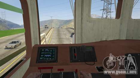 GTA 5 Monster Train vista trasera