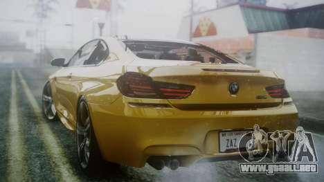 BMW M6 2013 para GTA San Andreas left