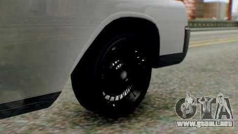 GTA 5 Vapid Chino Tunable IVF PJ para GTA San Andreas vista posterior izquierda